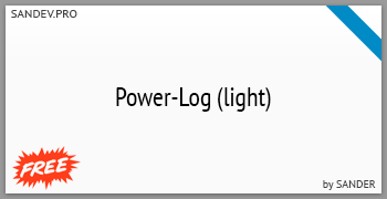 Power-Log (light) by Sander